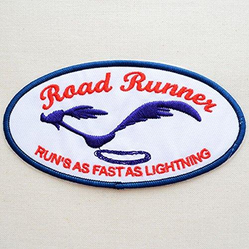 RoomClip商品情報 - ワッペン ロードランナー Road Runner(シャドー/オーバル) RR022-2