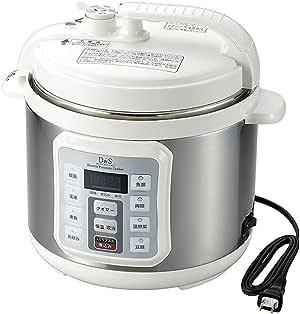D&S 家庭用マイコン電気圧力鍋 4.0L STL-EC50