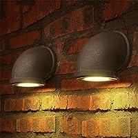 ロフトレトロランプリビングルームバークラブパブスタディポーチカフェレストランダイニングルーム壁ランプミラーライトアイアン壁取り付け用燭台ブラ