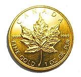 メイプルリーフ金貨 1オンス 純金 (99.99%) K24 (1982年?)1oz メープル