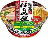 明星 低糖質麺 はじめ屋 糖質50% オフ こってり醤油豚骨味 84g×12個