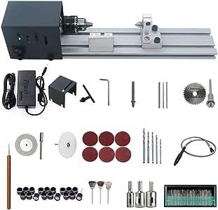旋盤,Toolmsc ビード彫刻穿孔機 ビーズポリッシャー機 木工ツール DIY ロータリーツールセット 研磨、穴あけ、彫刻、切削 24VDC 80W