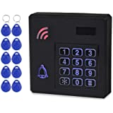 HFeng IP68 Waterproof RFID Access Control Keypad Wiegand 26 Door Access Control System Outdoor Rainproof 125KHz with 10pcs EM