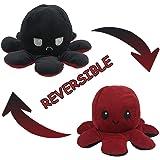 1pcs Reversible Octopus Double Sided Plushie Soft Plush Toy Pillow Pet Animal Doll Birthday Gift Flip Toy Companion Toy Plush