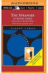 The Stranger: Translated by Matthew Ward MP3 CD