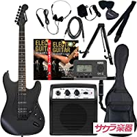 SELDER セルダー エレキギター ストラトキャスタータイプ サクラ楽器オリジナル STC-04/BB 初心者入門リミテッドセット・プラス