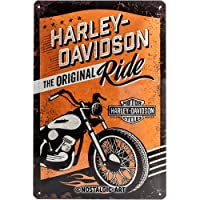 Nostalgic-Art ノスタルジックアート HARLEY-DAVIDSON ライド マルチカラー H1×W20×D30 13048