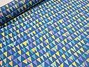 ナイロンオックス フラッグ ブルー |生地|布地|安い