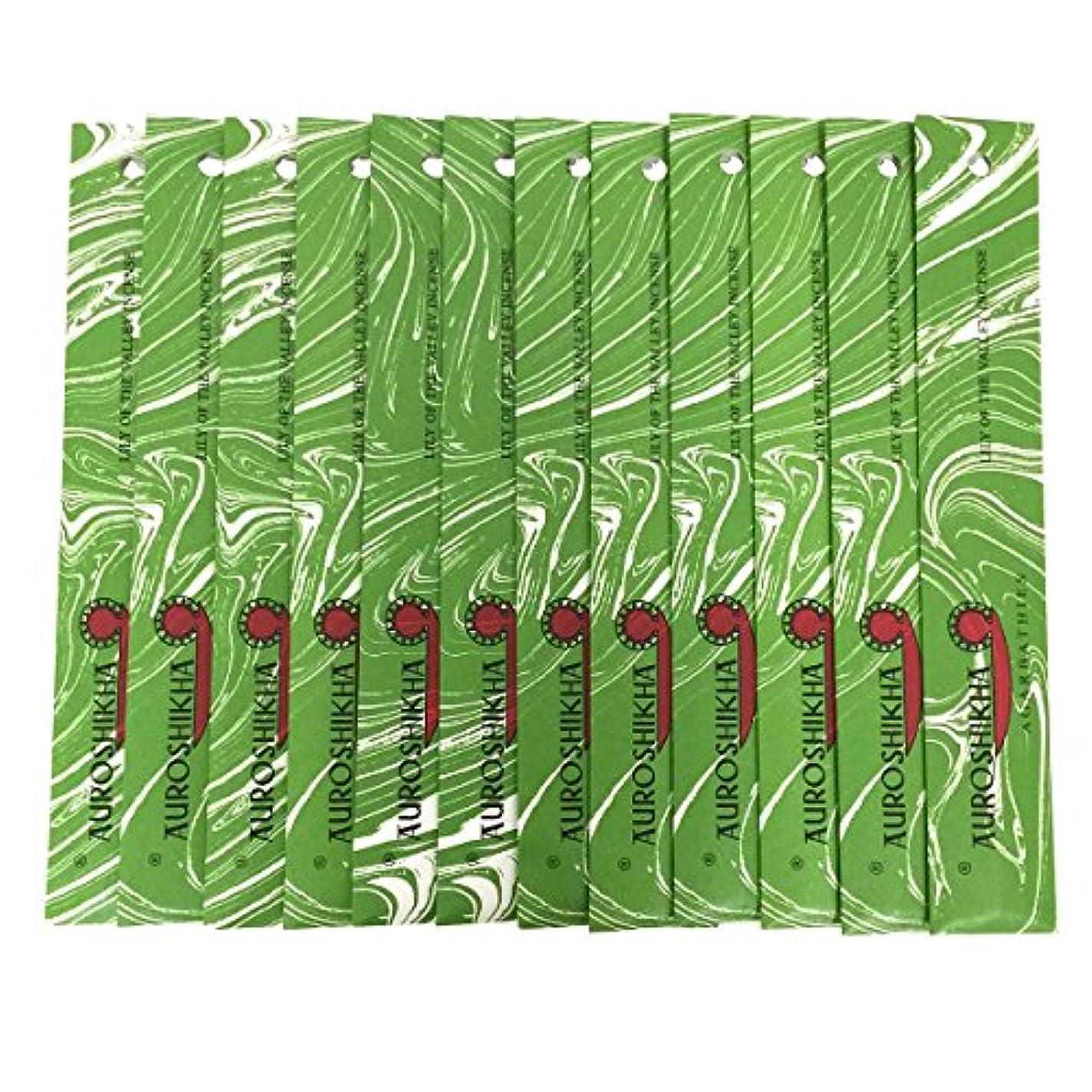 弱点胚法律によりAUROSHIKHA オウロシカ(LILYOFTHEVALLEYリリーオブザバレー12個セット) マーブルパッケージスティック 送料無料