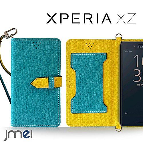 Xperia XZs SO-03J SOV35 ケース Xperia XZ SO-01J SOV34 ケース手帳型 エクスペリアxzs カバー エクスペリアxz カバー ブランド 手帳 閉じたまま通話ケース VESTA ブルー Sony simフリー スマホ カバー 携帯ケース 手帳型 スマホケース 全機種対応 ショルダー スマートフォン