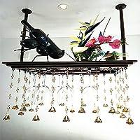 ワインカップホルダーヨーロッパの吊りペンダントガラスホルダー家庭用品 (サイズ さいず : 60 cm 60 cm)