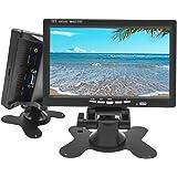 Camechoモニター 7インチ ミニディスプレイ 高精細TFT液晶画面 VGA /ビデオ/HDMI入力 DVDレコーダ監視/ミニテレビ/車載モニター対応