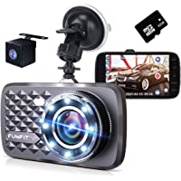 【最新版 Sonyセンサー & HDR/WDR技術】 ドライブレコーダー 前後カメラ (32GBカード付き) タッチパネ…