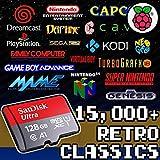 128Gゲームカード Rasperry Pi 3b+ レトロゲーム パンドラボックス アーケードゲーム