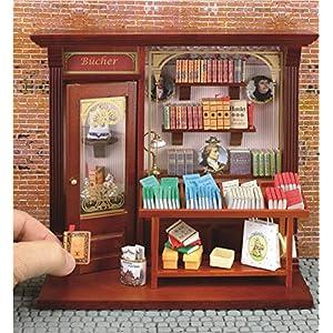【ロイターポーセリン】【ミニチュア】 ピクチャーボックス ブックショップ RP1794-3