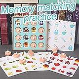 ACHICOO 学習ゲーム 記憶 トレーニング マッチング ペアゲーム 教育 インタラクティブ玩具 子供