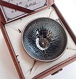 窯変 曜変 天目 茶碗 抹茶碗 手作り 窯作 鹧鸪斑建盞 和食器 酒器 料亭 [並行輸入品]