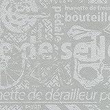 シンコール  壁紙32m  ポップ  グレー  BB-8830