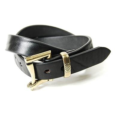 Fireman Buckle Belt le-4024: Black