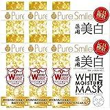 ピュアスマイル 薬用ホワイトモイスチュアマスク 1枚入×6個セット