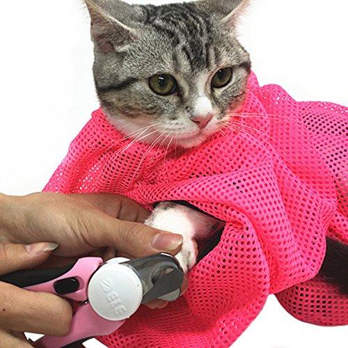 猫用 みのむし袋 おちつくネット