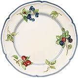 Villeroy & Boch Cottage Dinner Plate, 26 cm, Premium Porcelain, White/Colourful