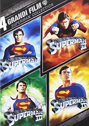 Superman - 4 Grandi Film (4 Dvd) [Italian Edition]