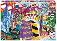 Educa 17651 - Take me to Barcelona - 500 pieces - Chic World Puzzle