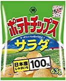 湖池屋 ポテトチップス サラダ 63g×12袋