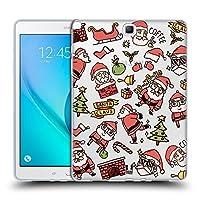 Head Case Designs サンタ クリスマス・ドゥードルズ Samsung Galaxy Tab A 9.7 専用ソフトジェルケース
