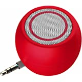 Rumfo Mini Phone Speaker Portable Wireless Plug in Speaker with 3.5mm Aux Audio Jack Rechargeable Plug and Play Clear Bass Sp