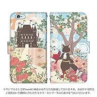 iPhone6s Plus 手帳型 ケース [デザイン:長靴をはいた猫/マグネットハンドあり] 童話 アイフォン スマホ カバー