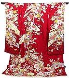 振袖 仮仕立て 仮絵羽 正絹 大きいサイズ 赤