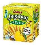 カルビー Jagabee ゆずしお味 80g(16g×5袋)×12箱