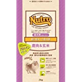ニュートロジャパン ナチュラルチョイス [超小型犬-小型犬用] 成犬用(生後8ヶ月以上) 鹿肉&玄米 2kg