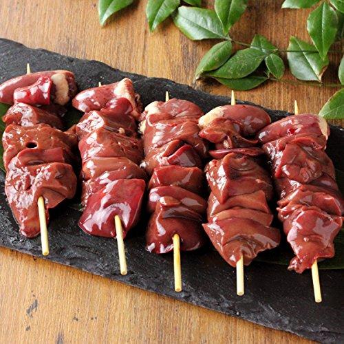 水郷のとりやさん 国産 鶏肉 レバー焼き鳥 串 【生】 5本入 水郷どり