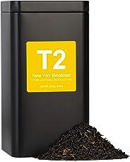 T2 Tea New York Breakfast Loose Leaf Black Tea in Tea Caddy, 250g