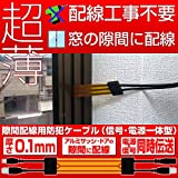 Broadwatch 防犯カメラケーブル(電源、信号一体型) (すきま)