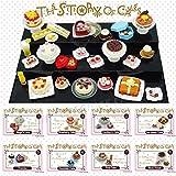 【Odoria ORCARA食玩】8種セット 洋菓子の物語 ケーキ屋 ミニチュア食品 ドールハウス アクセサリー