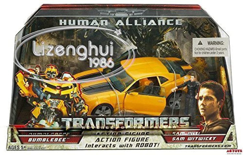 KO Version Transformers ROTF Bumblebee Sam Witwicky Human Alliance
