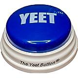 The Yeet Button Toy - A Real Life Yeet Meme   Blue Meme Button   YEET!   A Toy for The Meme-Lords