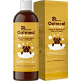 Dog Shampoo for Dry Itchy Skin - Colloidal Oatmeal Dog Shampoo for Smelly Dogs and Moisturizing Body Wash for Puppy Supplies