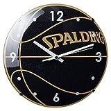 SPALDING(スポルディング) バスケット ボールクロック アクセサリー 小物 10-002WC 10-002WC ブラック
