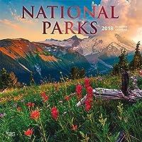 National Parks 2018 Wall Calendar [並行輸入品]