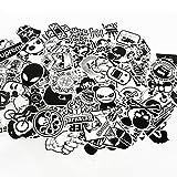 UTSAUTO 「100枚」セットスーツケースステッカー スケートボード アニメ 子供 スノーボードステッカー防水シールステッカー ヘルメッ..