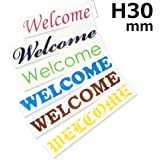 Kikiberry [高さ30mm] 欧文書体 屋外用(ツヤあり)英字切文字カッティングシール オーダーメイドステッカー デカール 車 バイク 文字シール アルファベット 切文字 看板 表札 名前 社名 (5文字)