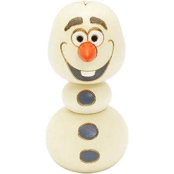 [卯三郎こけし]Disney公式ライセンス商品 ディズニー アナと雪の女王 オラフ こけし MMK-9796