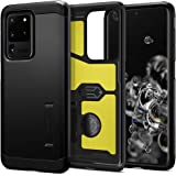 SPIGEN [Tough Armor] Galaxy S20 ULTRA Case Cover with Heavy Duty, Military-Grade Protection and Integrated Kickstand Designed
