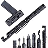 10-in-1 Tactical Pen Multitool Pen Gifts for Dads - Fathers Day & Gadget , Gift Box