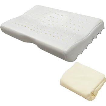 ottostyle.jp 頚椎支持型 低反発枕 洗えるカバー付 ウェーブ まくら もっちり いびき 健康 横向き (クリーム/低反発モールド枕 (通常タイプ))